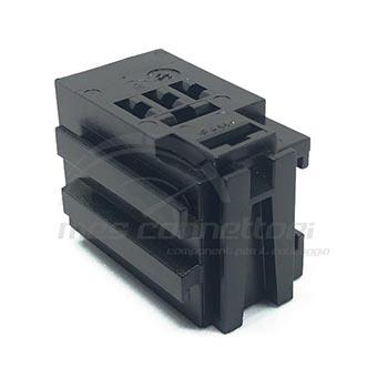 porta microrele' con innesti frontali senza staffa (terminali M42238-A + M015168)