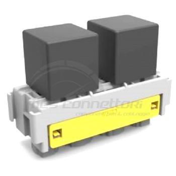 modulo MTA per 1 minirelay + 1 relay di potenza (TERMINALI F630 + F950)