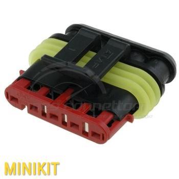 kit connettore super-seal 5 vie p.f.