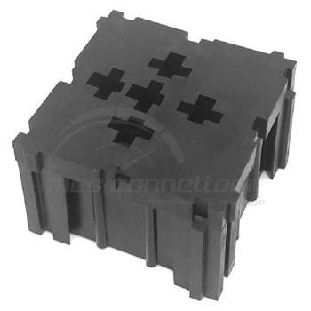 modulo per 1 rele' standard (TERMINALI M913-055  M913-065)
