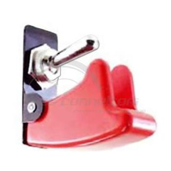 protezione rossa interruttore a levetta