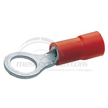 occhiello preisolato rosso mmq  6,4