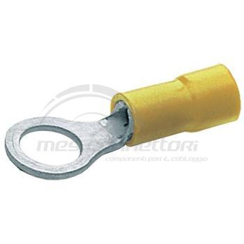 occhiello preisolato giallo mmq 6.4