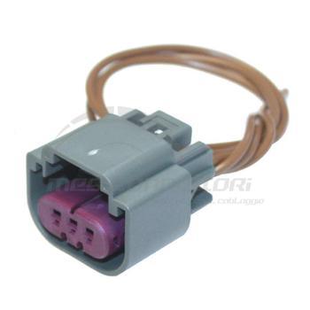 connettore cablato 3 vie p.f. per lampade H13