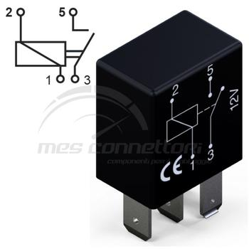 micro rele' 12V  20A  normalmente aperto