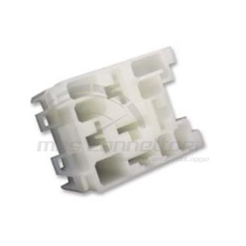 porta rele' standard 5 vie bianco senza staffa (TERMINALI M42238-A)