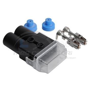 kit portafusibile MAXI stagno con terminali e gommini sez. 4,0-6,0 mmq
