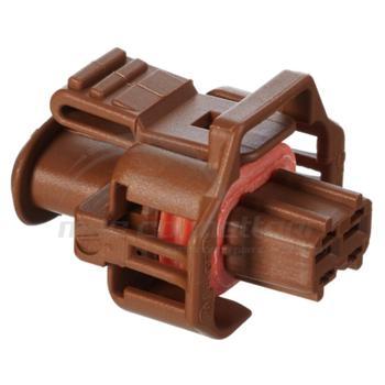 connettore BOSCH COMPACT 2 vie p.f. colore marrone