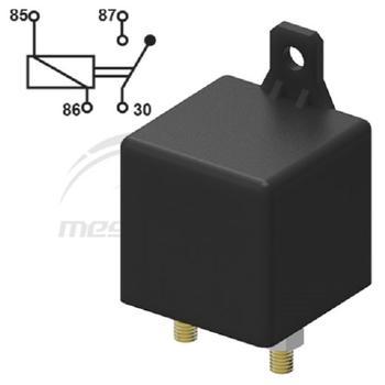 rele` di potenza 24V 100A con perni M6