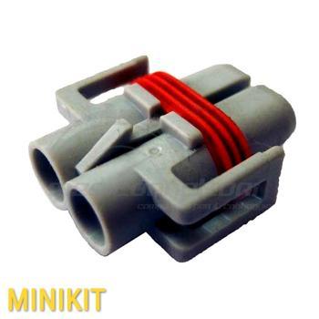 kit connettore 2 vie p.f. per lampade H9