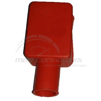 cappuccio morsetto batteria rosso