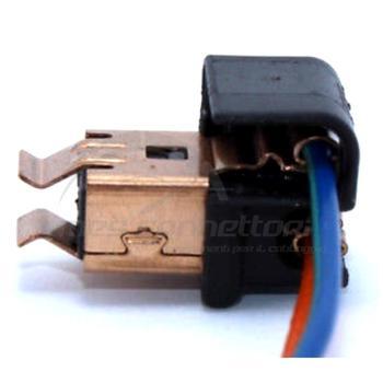 connettore cablato 2 vie p.f. per lampade H1