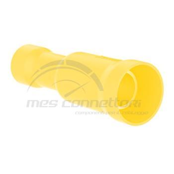 spina femmina preisolata gialla diametro 5 mm
