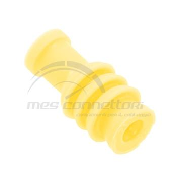 gommino passacavo giallo serie MQS sez. 1,10-1,30 mmq
