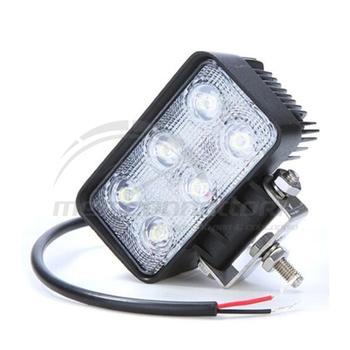 faro da lavoro rettangolare 9-32 volt 18watt 6 led-1400lm