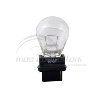 lampada con zoccolo plastica 27W