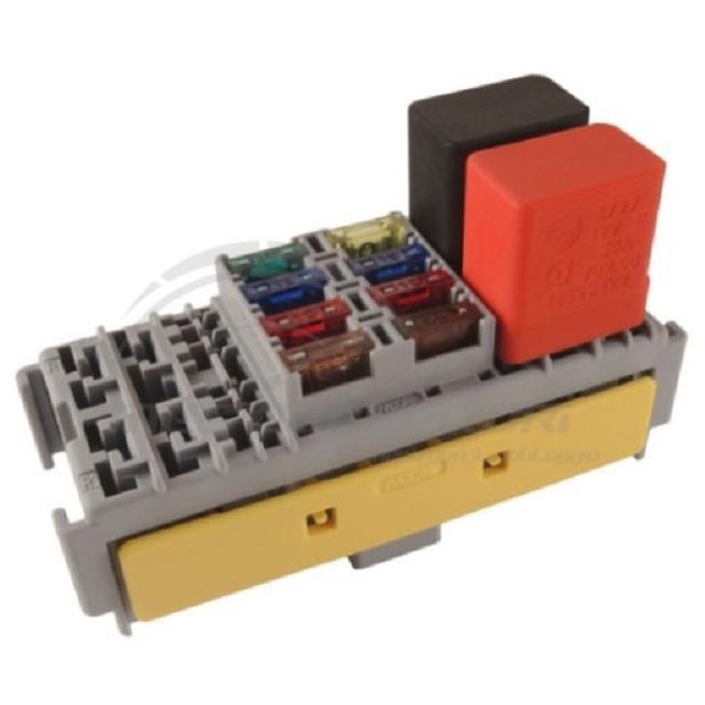 modulo MTA porta 8 minifusibili + 4 microrelay (TERMINALI F280 + F480)