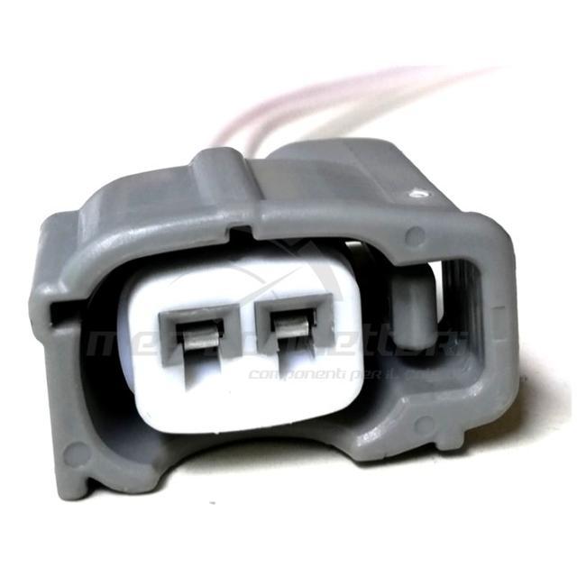 connettore cablato 2 poli p.f. grigio SUMITOMO