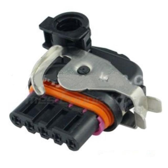 connettore con leva metallica + cover per alternatori