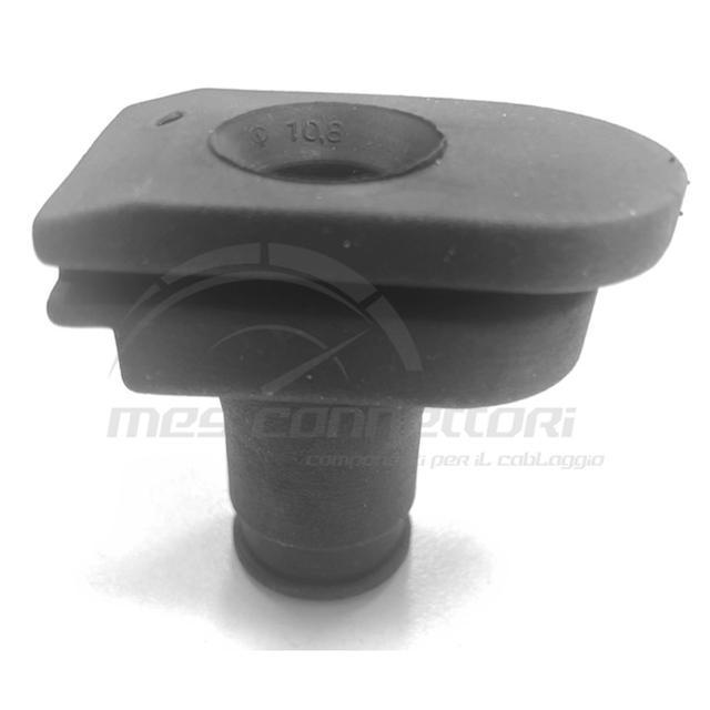 gommino in neoprene 1 foro 12.8mm per scatola ADR Schlemmer