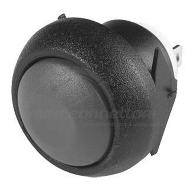 pulsante IP67  d.12 mm ad incastro colore nero