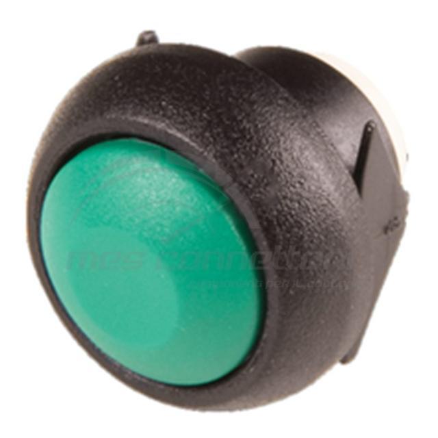 pulsante IP67 d.12 mm ad incastro colore VERDE