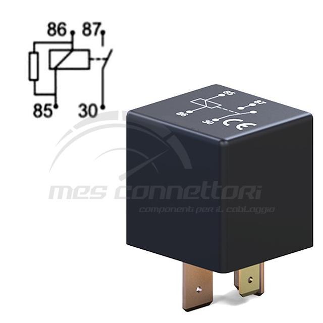 rele' di potenza 12V 100A n.o con resistenza